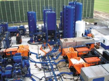 Fracarbeiten auf der Oythe Z3. Quelle: Wirtschaftsverband Erdöl- und Erdgasgewinnung e.V.
