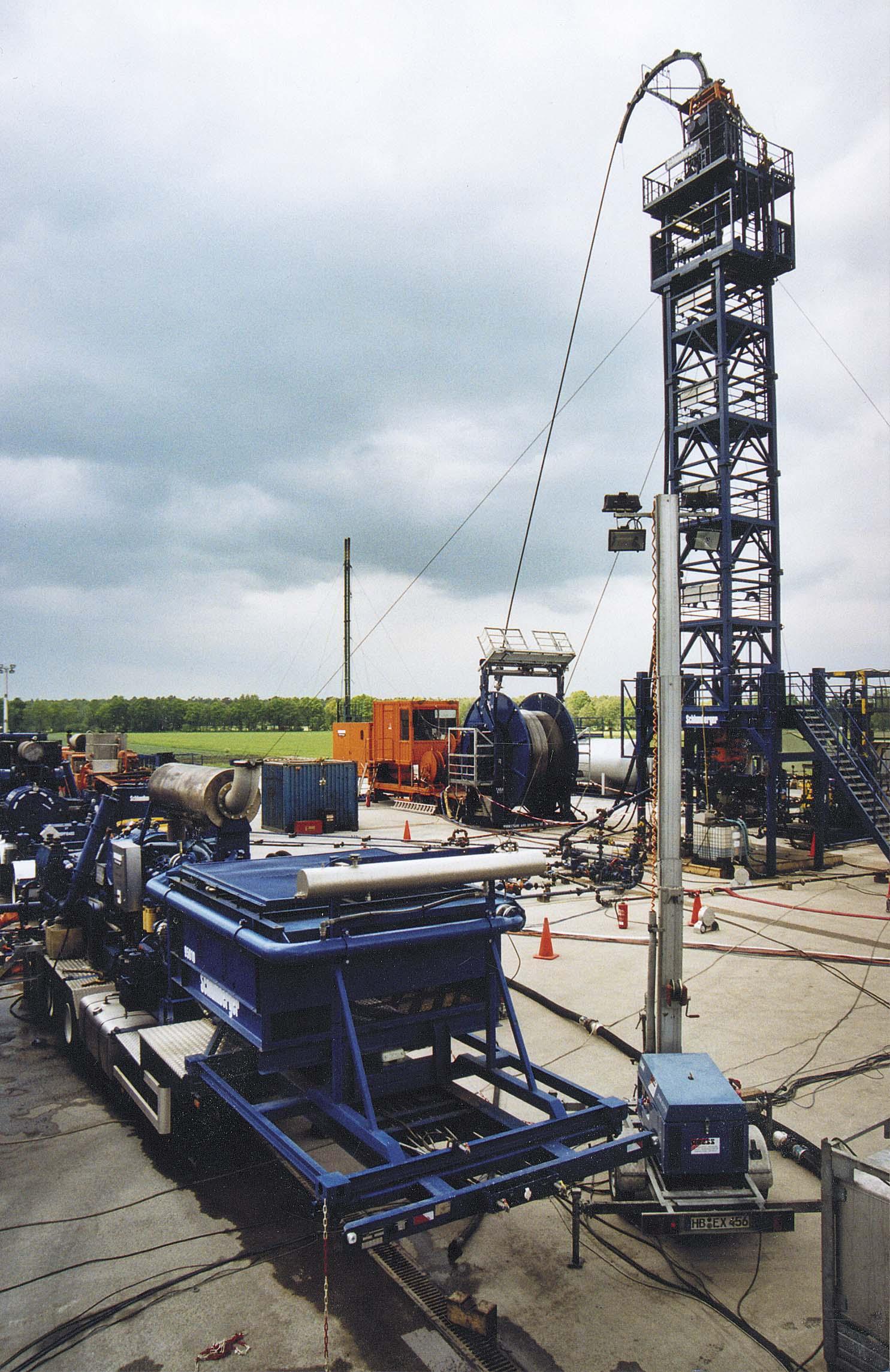 Fracarbeiten Söhlingen Z15 Quelle: WEG Wirtschaftsverband Erdöl- und Erdgasgewinnung e.V.