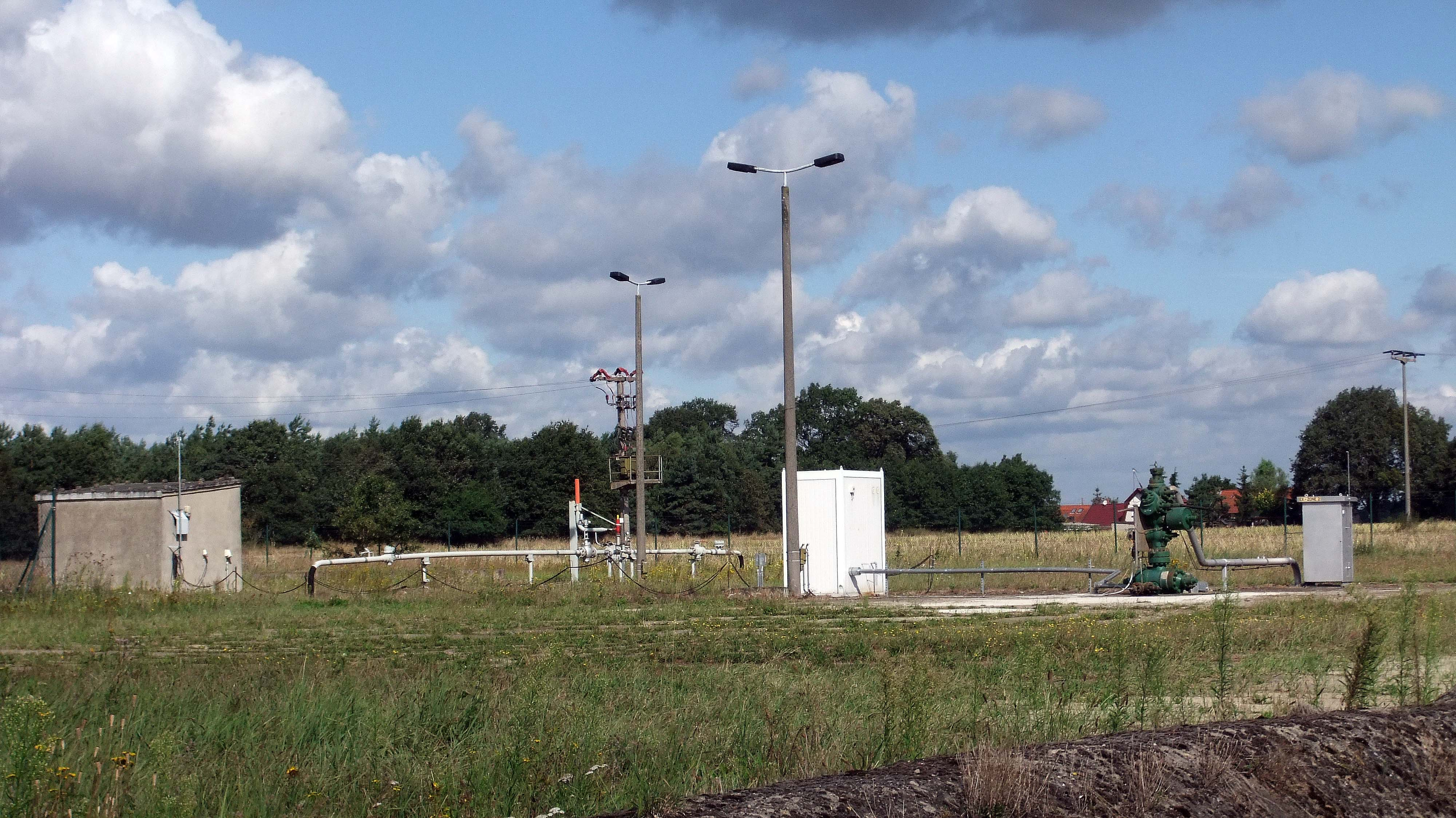 Erdgasbohrung PES 152 in der Altmark