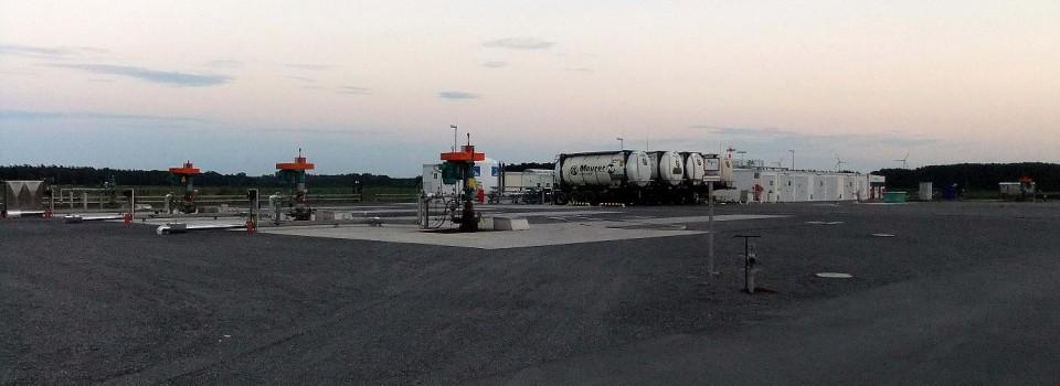 Zwei neue Bohrungen im Erdölfeld Bockstedt in Vorbereitung