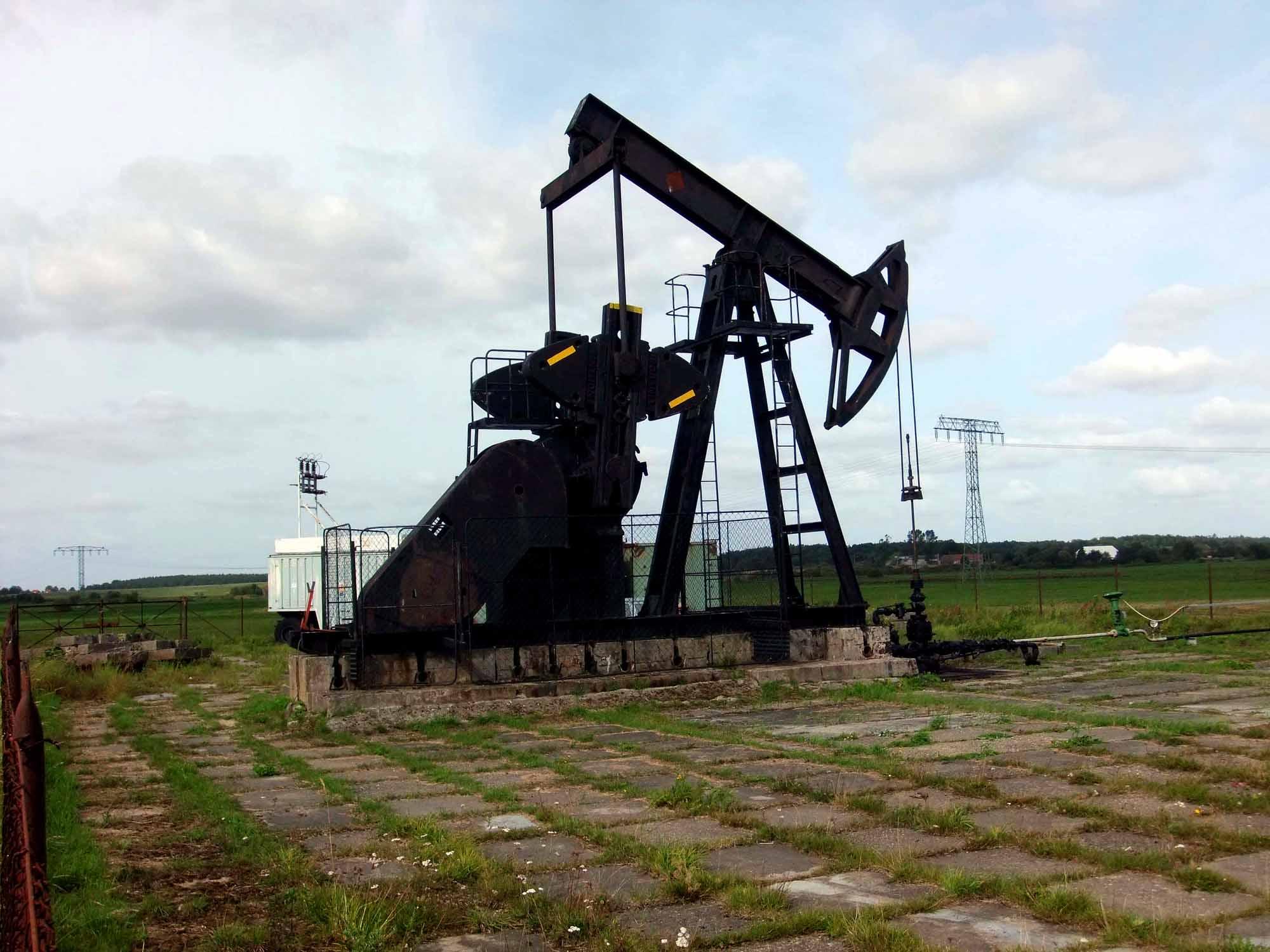 Erdölförderbohrung Mesekenhagen 1 bei Greifswald ©chef79