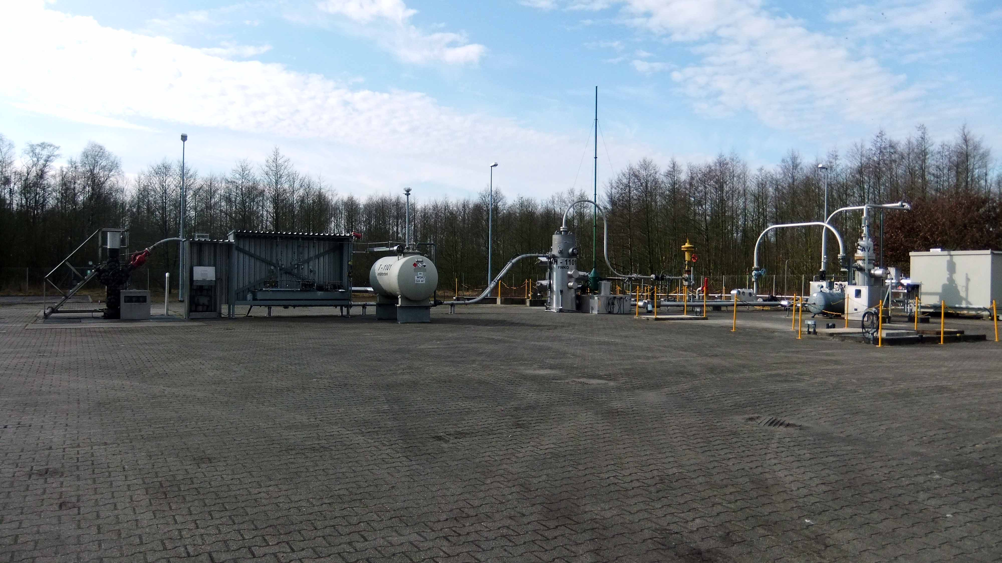Erdgasförderbohrung Söhlingen-Ost Z3, März 2012, chef79