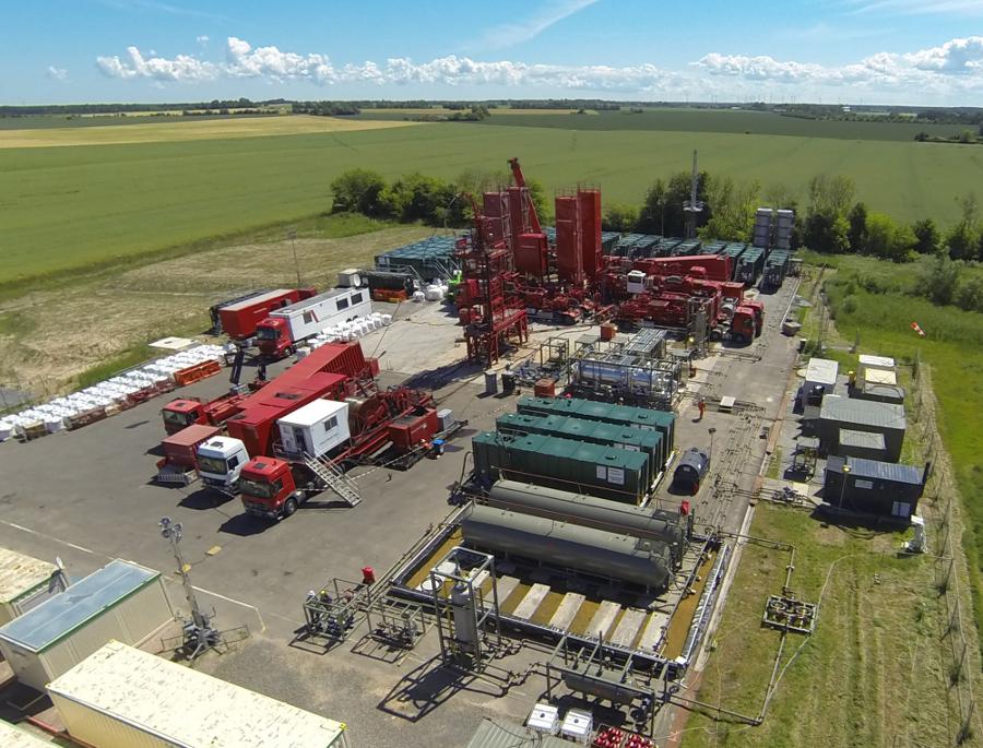 Stimulierung der Erdölbohrung Barth 11 Bildquelle CEP