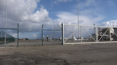 Erdgasförderbohrung Buchhorst T12, bislang letzte in Niedersachen gefracte Erdgasbohrung