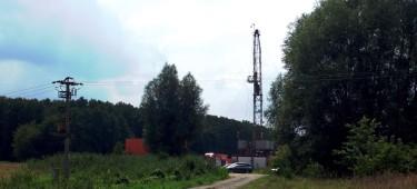 Workovereinsatz auf einer Erdgasbohrung in der Altmark. Sommer 2014. ©chef79