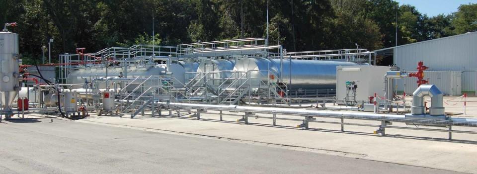 GDF-Suez plant Erdölerkundungsbohrung südwestlich von Speyer