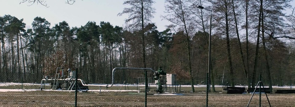 Protest gegen Erdgaserkundung in der südlichen Altmark