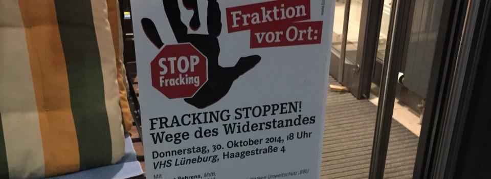 In der Höhle des Löwen – Zu Besuch bei einer Anti-Fracking-Veranstaltung von Die Linke (Teil II)