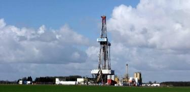 Risiko Fracking? Hier wird zunächst gebohrt.