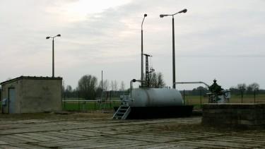 Erdgasförderbohrung PES 4, Fundbohrung der Altmarklagerstätten (März 2012)