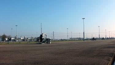 Erdgasförderung im Groningen-Feld in den Niederlanden chef79