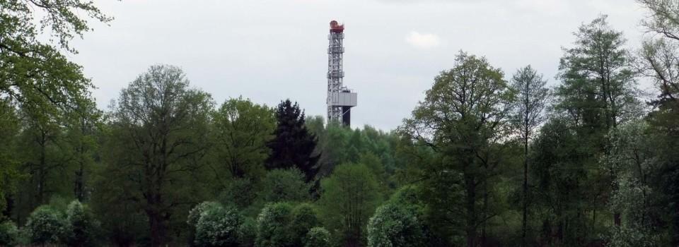 Mini-Demos gegen Erdgasgewinnung bei Söhlingen