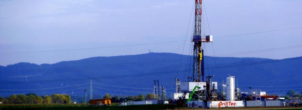"""Erdölerkundungsbohrung """"Allmend 1"""" weist Erdöl nach"""