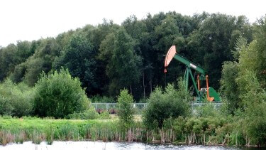 Erdölförderbohrung Rühlermoor 411, chef79