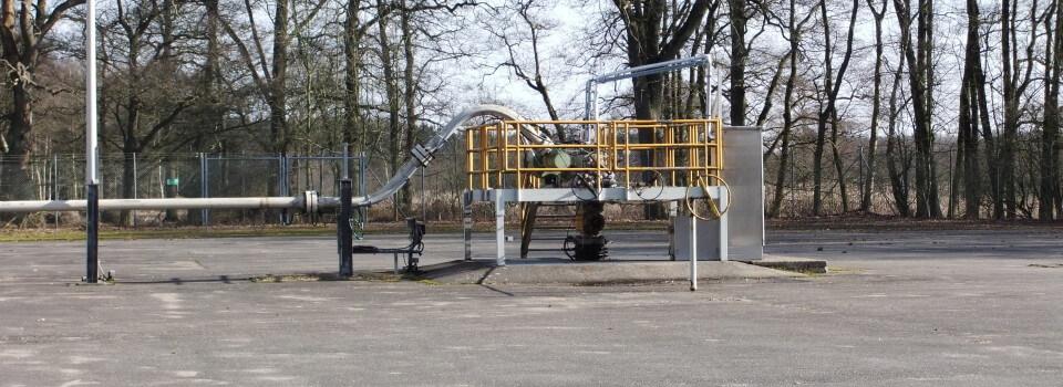Kohlenwasserstoffgewinnung in Norddeutschland: Erdgasförderbohrung Söhlingen Z1