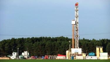 """ITAG-Rig 30 auf Erdölexplorationsbohrung """"Märkische Heide 1"""""""