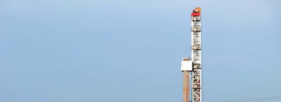 Erdöl und Erdgas in Deutschland: Bohrung Märkische Heide 1 im Dezember 2015
