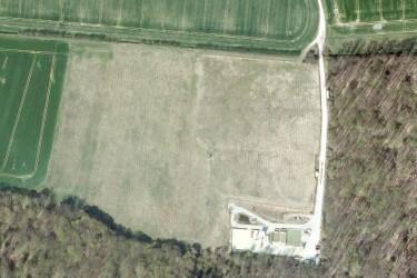 gelände der inzwischen vollständig rekultivierten zentralen Bohrschlammgrube Niephagen in der Altmark. Quelle: GoogleMaps