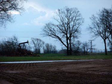 Sinnbild für 50 Jahre Ölförderung auf Usedom