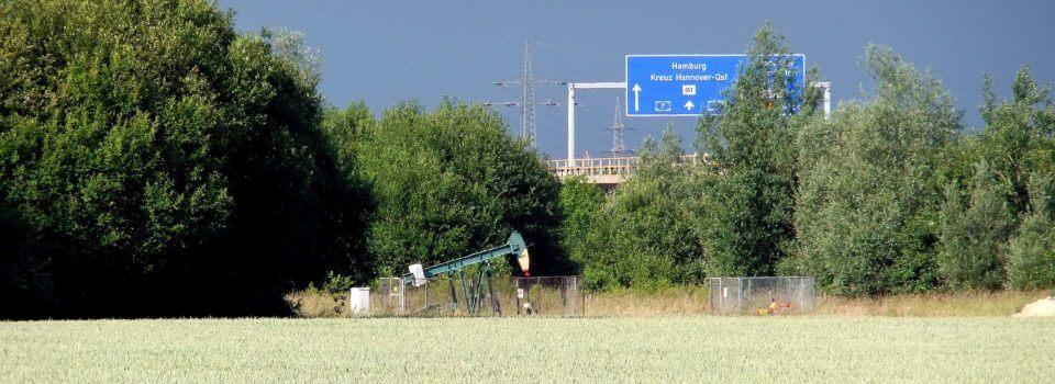 Erdöl- und Erdgasreserven in Deutschland gehen weiter zurück