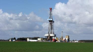 Erdgasbohrung Düste Z10, März 2012. Quelle: chef79
