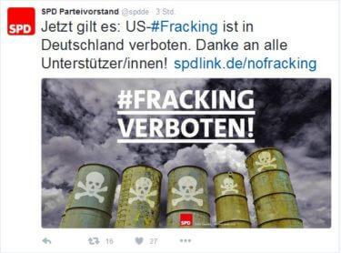 SPD Fracking