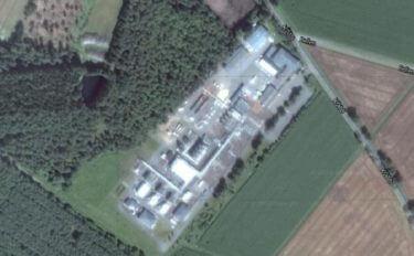 Luftbild der Zentralstation Söhlingen. Auf dieser Fläche soll die Reststoffbehandlungsanlage errichtet werden.