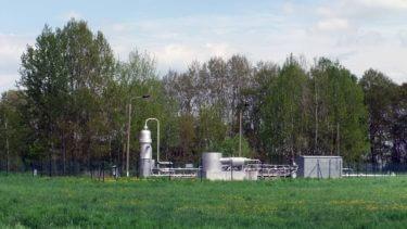 Gassammelpunkt Püggen, Mai 2013. ©Steven Arndt