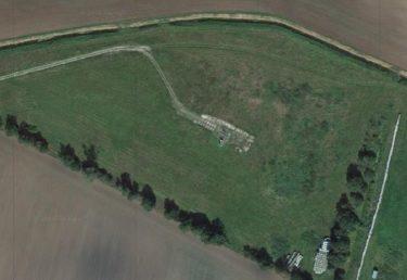 Lage der Erdgasbohrung Salzwedel 112 im Gelände. Bildquelle: GoogleMaps