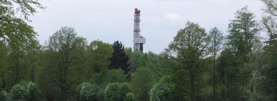 Erdgasgewinnung in Norddeutschland