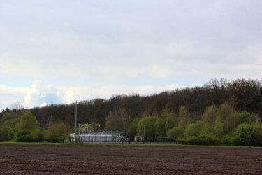 Gasförderung bei Rotenburg: Förderbohrung Hemsbünde Z6