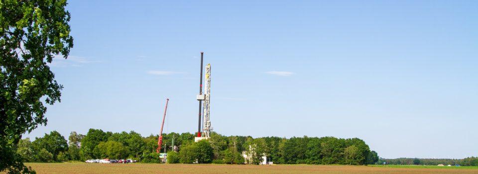ExxonMobil führt Bohrung Dötlingen Z3A durch