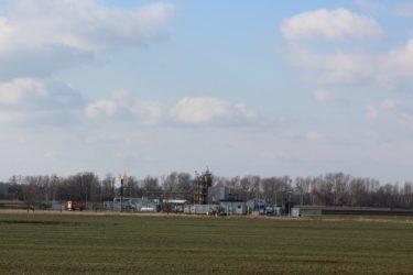 Förder- und Aufbereitungsstation der Öllagerstätte Kietz